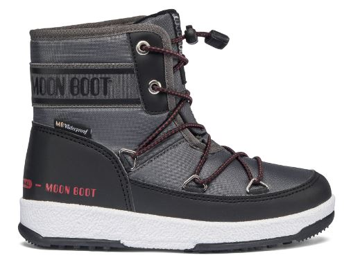 JR BOY MID WP 2, 002 black/castlerock